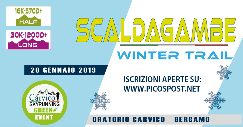 Logo SCALDAGAMBE WINTER TRAIL 16KM